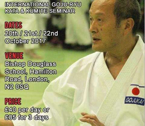 Seiwakai International Goju-Ryu Seminar Seiichi Fujiwara (8e Dan)
