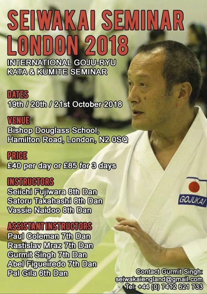 31880880 10155297953751560 2801212910657863680 n European Goju Ryu Seminar Fujiwara Sensei