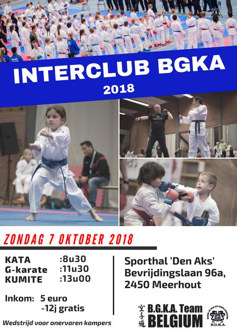 affiche interclub Interclub BGKA