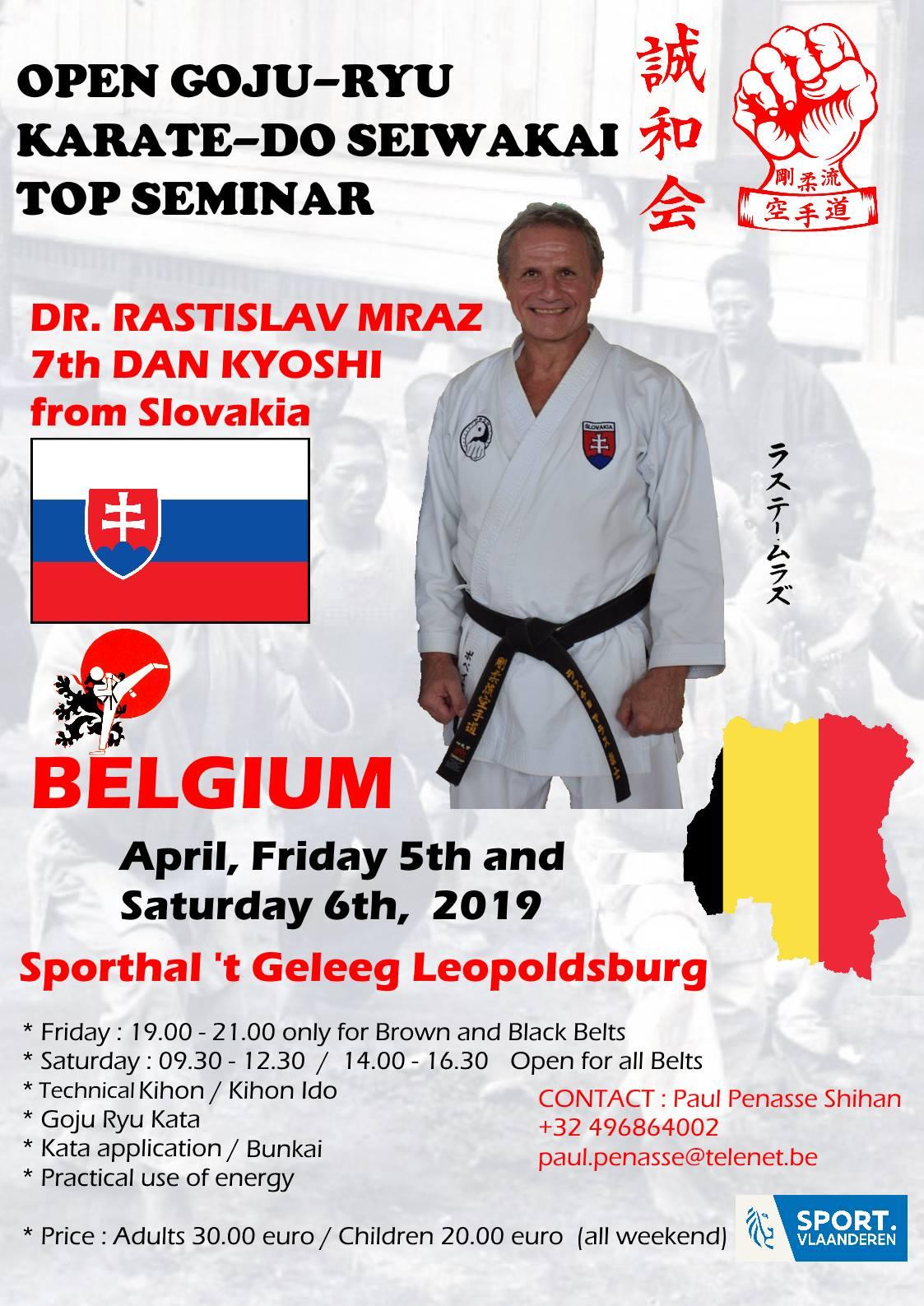 46489376 10218832959154320 4916374550343581696 o Open Goju Ryu Karate Do Seiwakai seminar