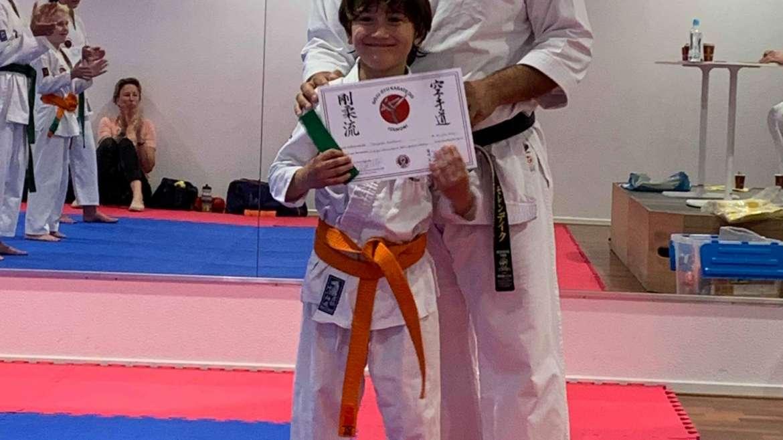 Pittig Kyu graad examen