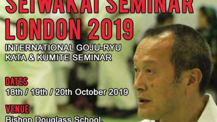 Seiwakai karate seminar in Londen
